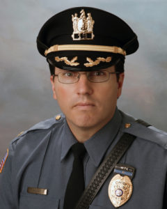 Newton Police Chief Michael Richards
